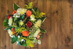 Bouquet étonnant d'automne image stock