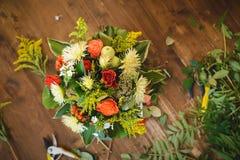Bouquet étonnant d'automne Photographie stock