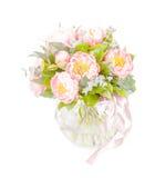 Bouquet étonnant des mésons pi roses d'isolement Photographie stock libre de droits