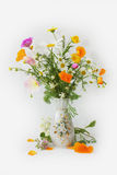 Bouquet. Field a flowers in a vase Stock Images