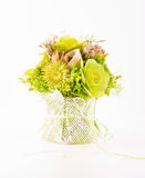 Bouquet. (isolated on the white Royalty Free Stock Photo