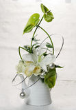 Bouquet. Of flowers on white background Stock Image