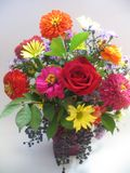 Bouquet. This is a flower arrangement that would be good on cards, etc Stock Image