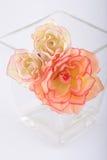 Bouquet. Romantic, synthetic bouquet of flowers Stock Image