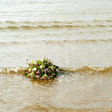 Bouquet afloat Royalty Free Stock Photo