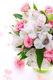 Bouquet Alstroemeria And Rose Royalty Free Stock Image