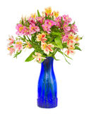 Bouquet of alstroemeria flowers Stock Photo