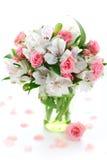 Bouquet alstroemeria and rose