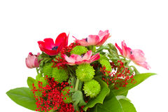 Bouquet with anemones Stock Images