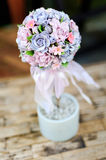 Bouquet of artificial flower Royalty Free Stock Images