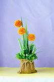 Bouquet of Artificial flower and plants Royalty Free Stock Photography