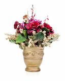 Bouquet from artificial flowers Royalty Free Stock Images