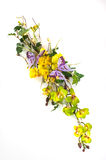Bouquet of artificial flowers Royalty Free Stock Images