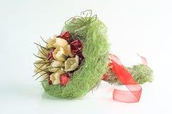 Bouquet of artificial flowers Stock Photos