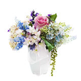 Bouquet from artificial flowers. Stock Image