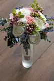 A bouquet of artificial flowers in a vase, decor 6 Stock Photos