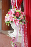 Bouquet of artificial  flowers Royalty Free Stock Photography