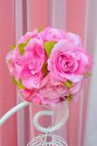 Bouquet artificiel de fleurs de tissus. Photo libre de droits