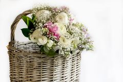 Bouquet of assorted flowers Royalty Free Stock Images