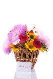 Bouquet of asters Stock Photography
