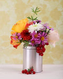 Bouquet of autumn flowers Royalty Free Stock Photography
