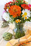 Bouquet of autumn flowers Royalty Free Stock Photos