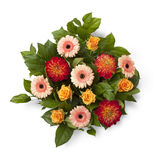 Bouquet with autumn flowers Royalty Free Stock Image