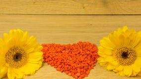 Bouquet avec les fleurs jaunes Image libre de droits