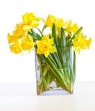 A bouquet of beautiful daffodils Stock Photo