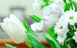 Bouquet of beautiful different flowers Royalty Free Stock Images
