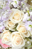 Bouquet of beautiful flowers Stock Images