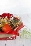 Bouquet of beautiful flowers Royalty Free Stock Image