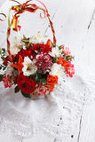 Bouquet of beautiful flowers Stock Photos