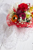Bouquet of beautiful flowers Royalty Free Stock Images