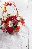 Bouquet of beautiful flowers Stock Photo
