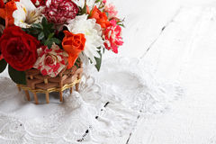 Bouquet of beautiful flowers Royalty Free Stock Photos