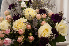 Bouquet of beautiful fresh flowers Royalty Free Stock Photo