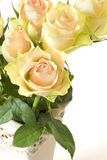 Bouquet of beautiful roses Stock Photo