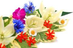Bouquet of beautiful wildflowers. Stock Photo