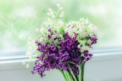 Bouquet of beauty flowers Stock Images