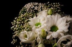 Bouquet blanc Image libre de droits