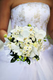 Bouquet of bride Stock Images