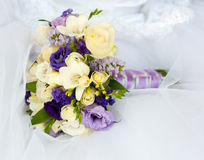 Bouquet of bride Stock Photography