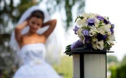 Bouquet of bride Stock Images