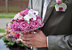 Bouquet for the bride Royalty Free Stock Photo
