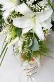 Bouquet of bride. In a jug stock images