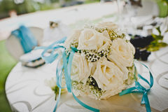 The bouquet of the bride Royalty Free Stock Photos