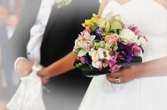 Bouquet of bride Royalty Free Stock Photo
