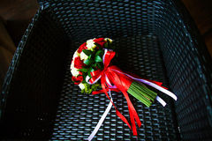 The Bouquet bride Stock Photos