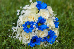 Bouquet of the bride`s Stock Photo